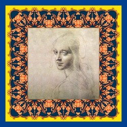 Scarf De Wan for Leonardo da Vinci