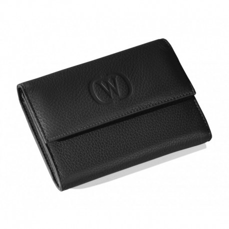 Wallet just in Saffiano leather