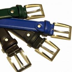 Brushed Calfskin Belt