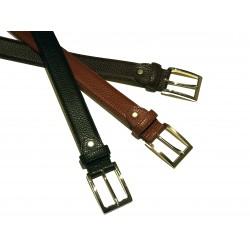 """Fine dollar"" hammered calfskin belt"