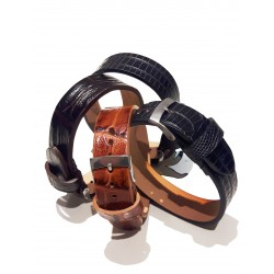 Bracciale unisex in vera pelle Made in Italy